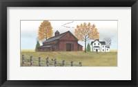 Framed Autumn Farmstead