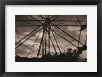 Framed Ferris Wheel at Sunset