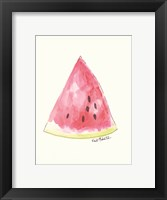 Framed W is for Watermelon
