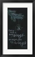 Framed Angel Wings