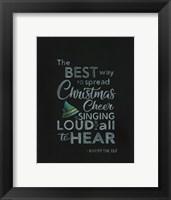 Framed Christmas Cheer