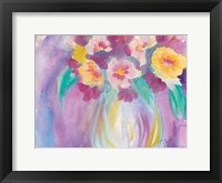 Framed Bright Bouquet
