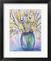 Framed Forsythia Bouquet