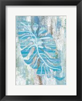 Framed Blue Dreams Palm