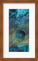 Framed Metropolitan Peacock 2