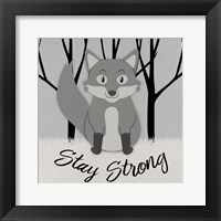 Framed Strong Wolf