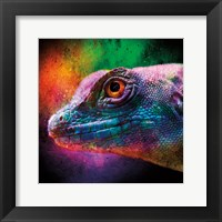 Framed Party Lizard
