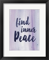 Framed Inner Peace