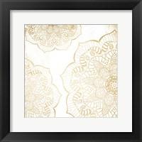 Framed Gold Mandala