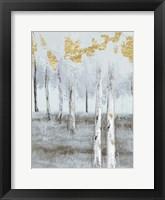 Framed Birch Metallic Gray Day 2