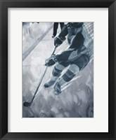 Hockey Move Framed Print