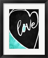 Framed Love Heart