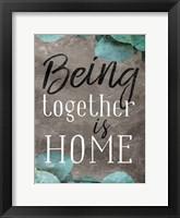 Framed Being Together