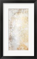 Framed Abstract Silver Gold