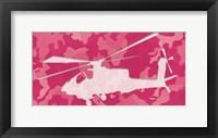 Framed Pink Chopper