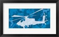 Framed Blue Chopper