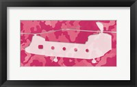 Framed Pink Long Chopper