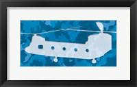 Framed Blue Long Chopper