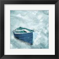 Framed Lonely Boat