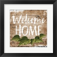 Framed Welcome Home