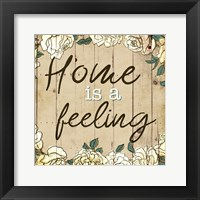 Framed Home Is Feeling