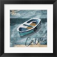 Framed Calm Boat