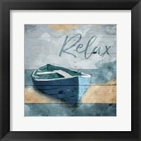 Framed Relax Boat
