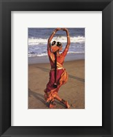 Framed dortes - Indian Dancer