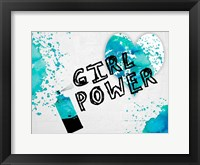 Girls Rule Framed Print