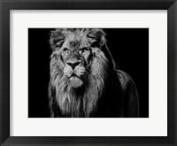 Framed Dark Night Leo