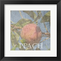 Framed Peach