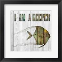 Framed I Am A Keeper