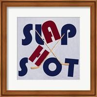 Framed Hockey Shot