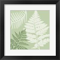 Framed Green Jungle 3