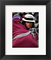 Framed Ecuador