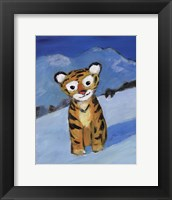 Framed Little Tiger