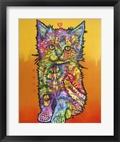 Framed Love Kitten