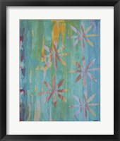 Framed Stained Glass Blooms II