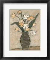 Framed Flowers From B I