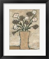 Framed Flowers From B II