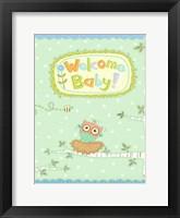 Framed Baby Owl I