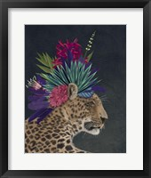 Framed Hot House Leopard 1