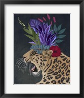 Framed Hot House Leopard 2