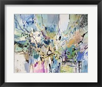 Framed Rainbow Blue II