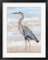 Framed Beach Heron II