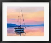 Framed Sailing Portrait I