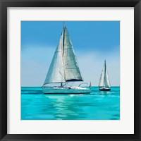 Framed Sailing Portrait IV
