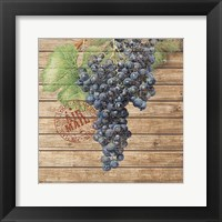 Framed Grape Crate I