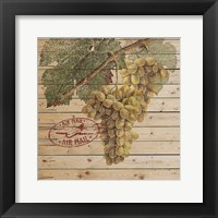 Framed Grape Crate II