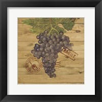 Framed Grape Crate III